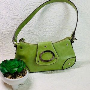 "Green Apple mini  purse L10""H6"""